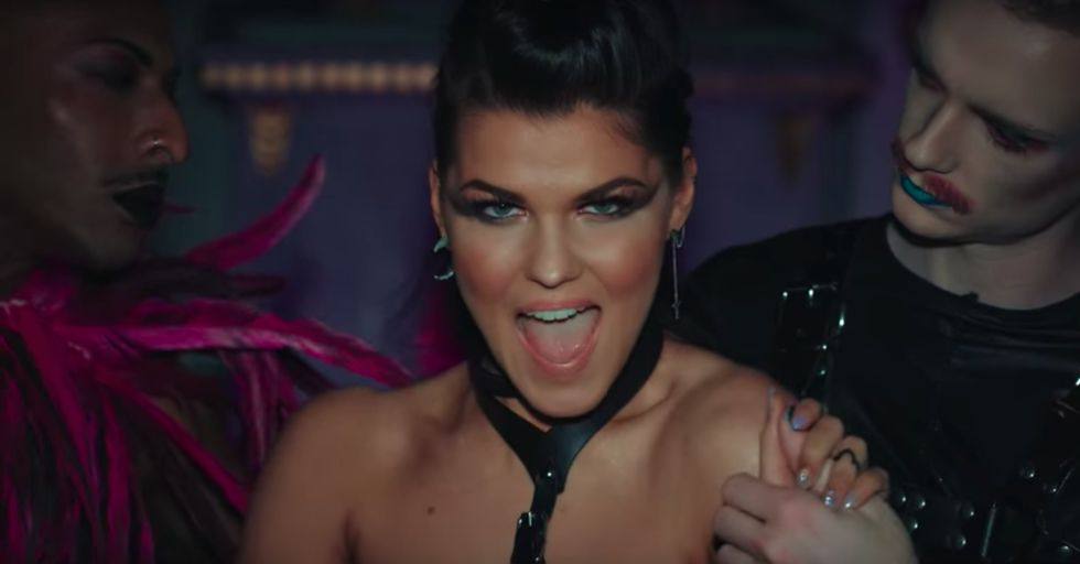 Eurovision Song Contest 2018 – First Semi-final – Saara Aalto