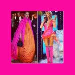 """Christer Lindarw på Instagram: """"Som jag har funderat på var min förvaringspåse till La Dolce Vita klänningen tagit vägen. 🤣 #nobel #rosaorange #malpåse"""""""