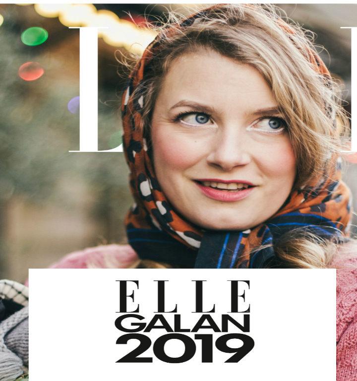 Vinnare på ELLE-galan 2019 – Elsa Billgren Årets Influencer
