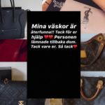 Desirée Nilsson har fått tillbaka sina väskor
