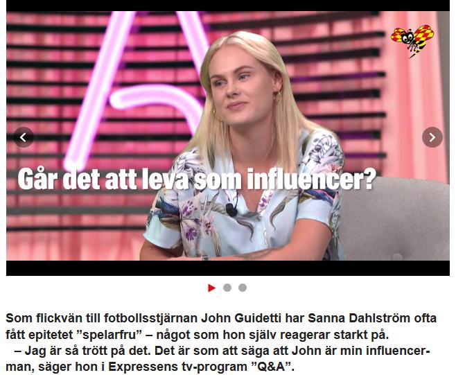 Q&A med Sanna Dahlström