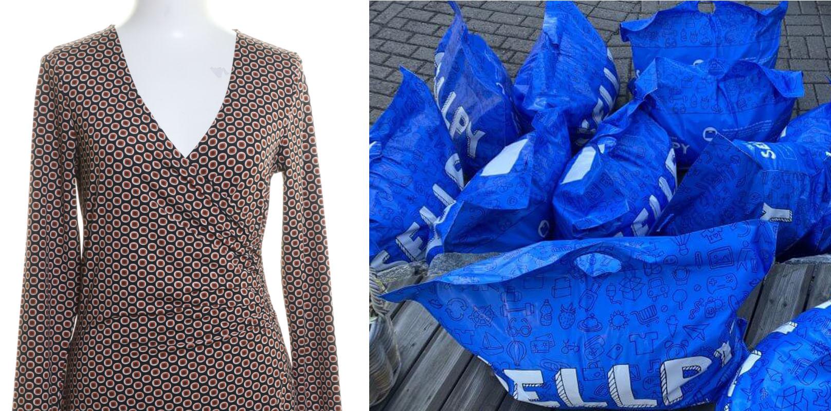 Pernilla Wahlgren säljer sina kläder på Sellpy