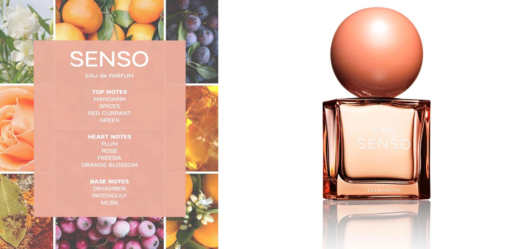 Senso - en ny parfym från Caia