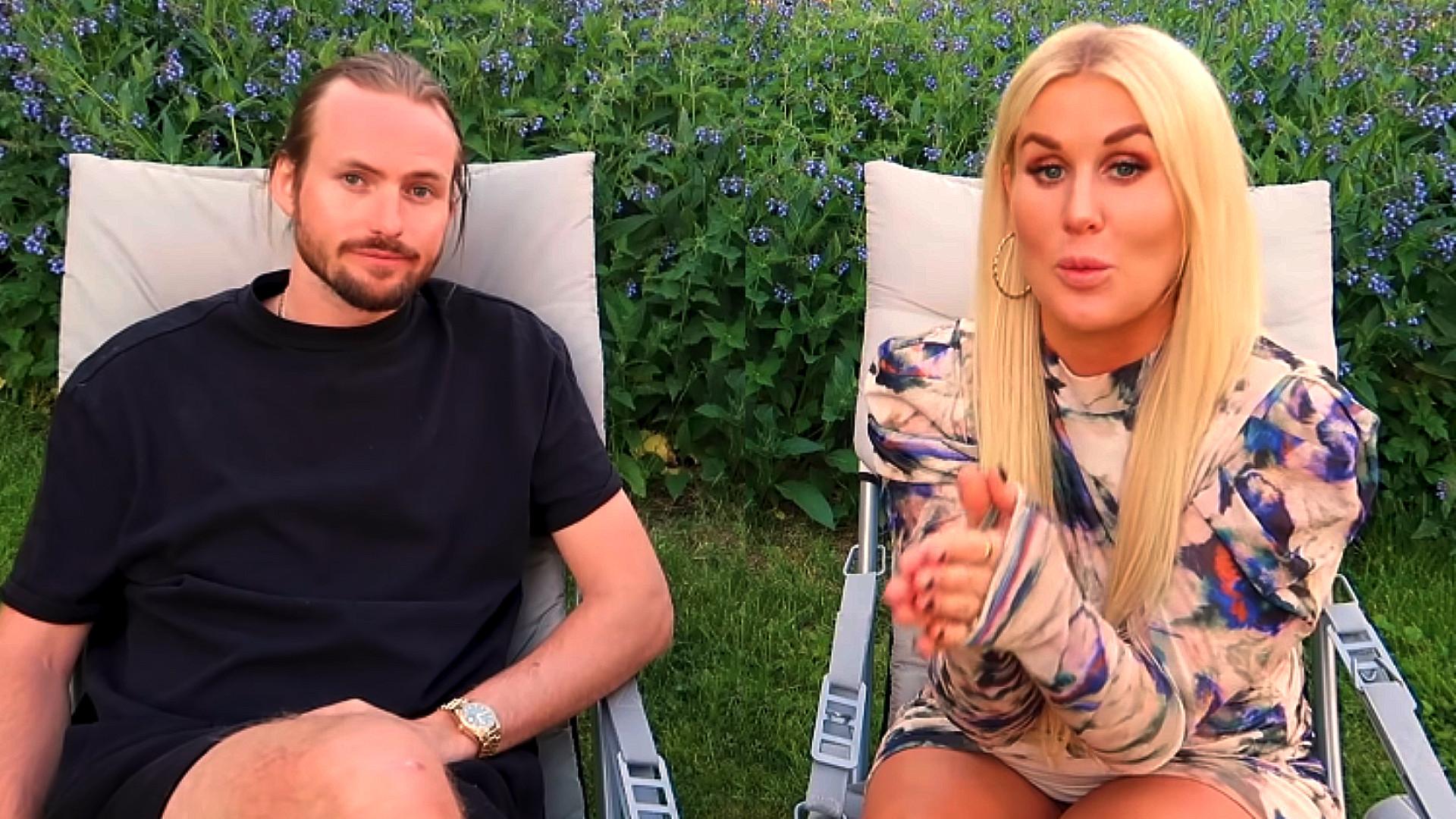 Melina och Jacob Criborn svarar på frågor om Benjamin Ingrosso