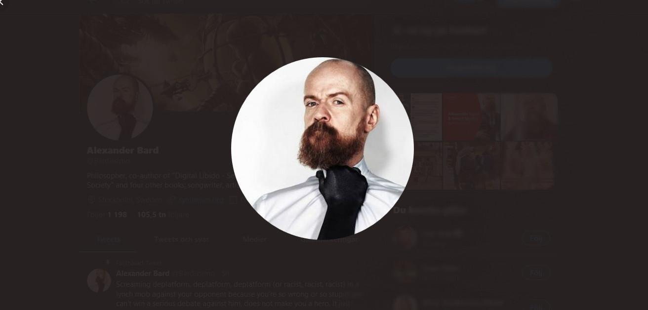 Alexander Bard slutar på TV4