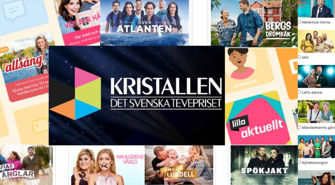 Nominera din favorit till Kristallen 2020