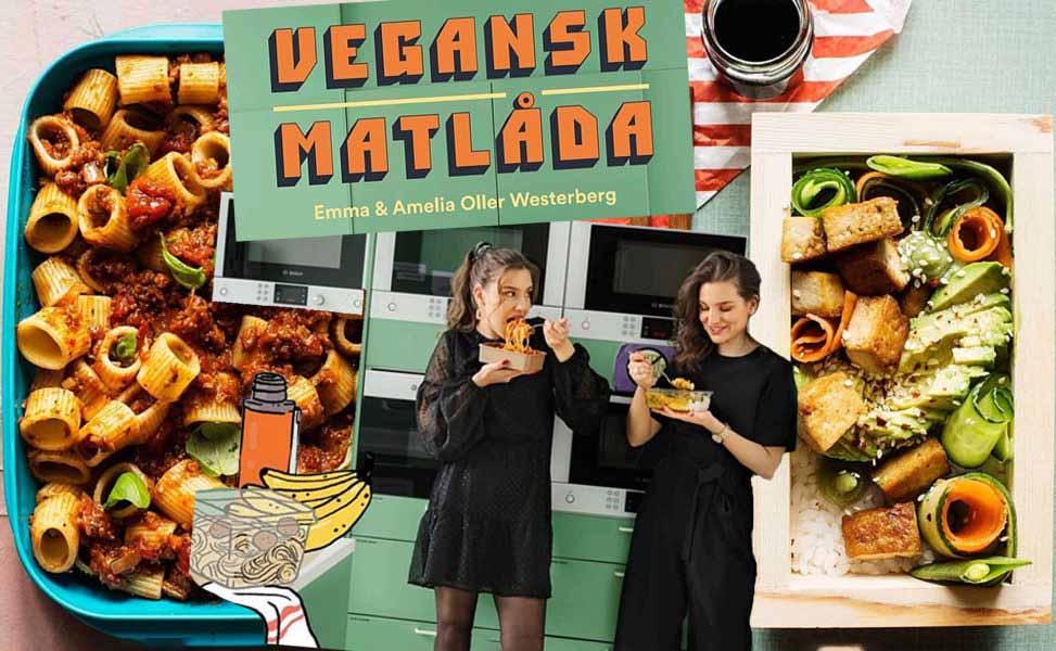 Vegansk matlåda ges nu ut som kokbok