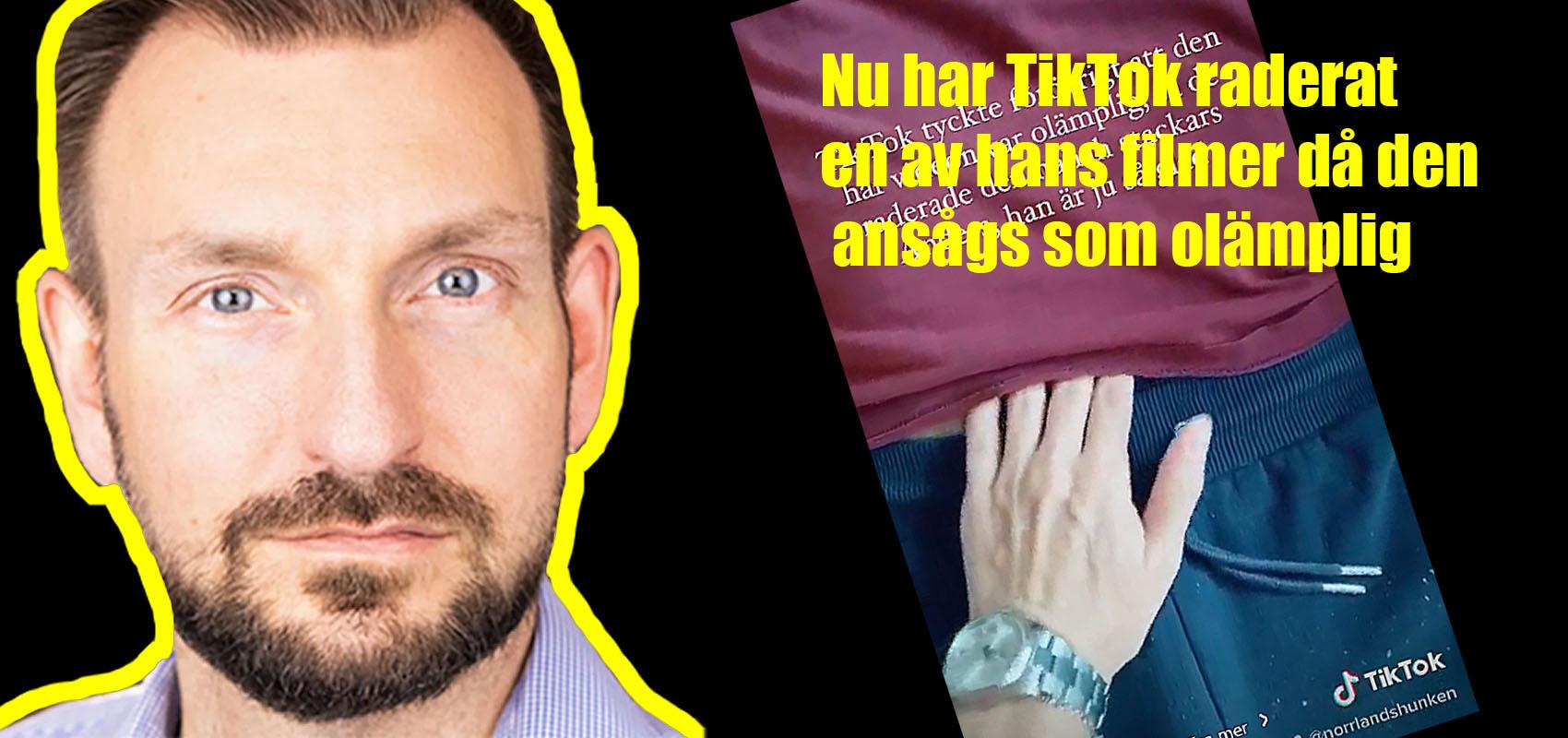 Therese Lindgrens pojkväns video raderad på TikTok