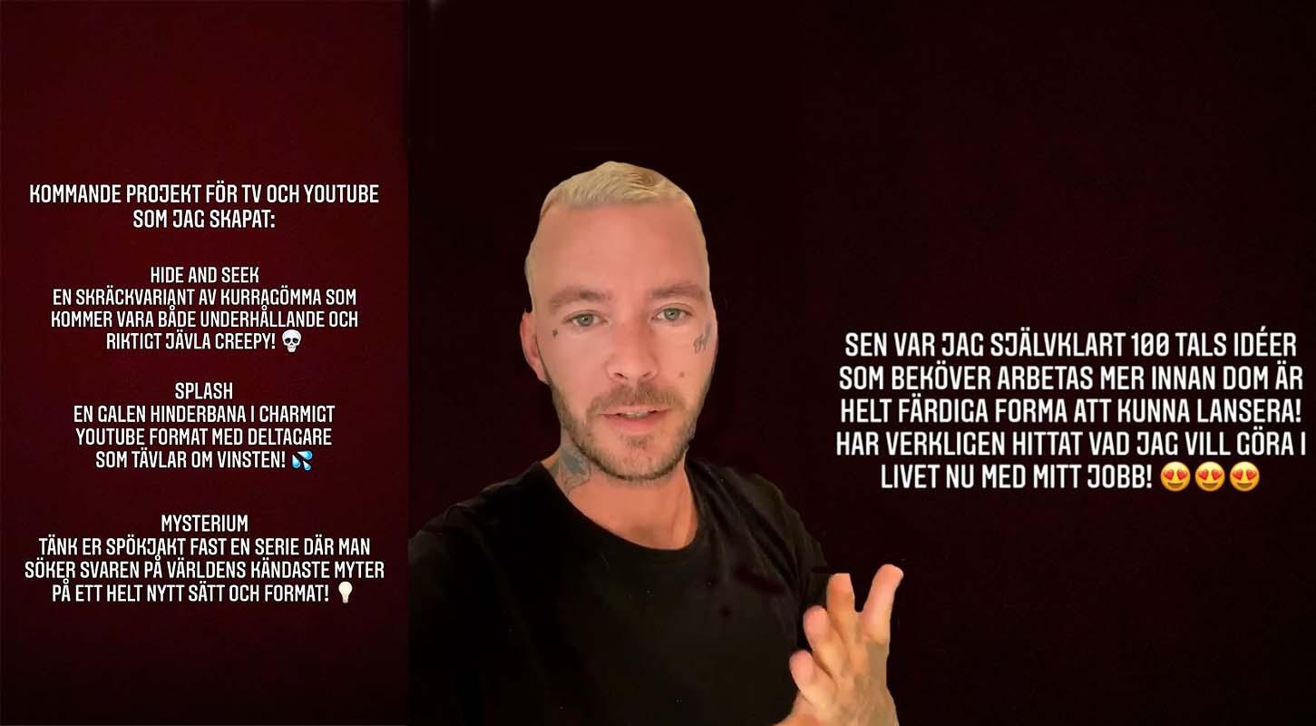 Tre nya program på väg från Joakim Lundell