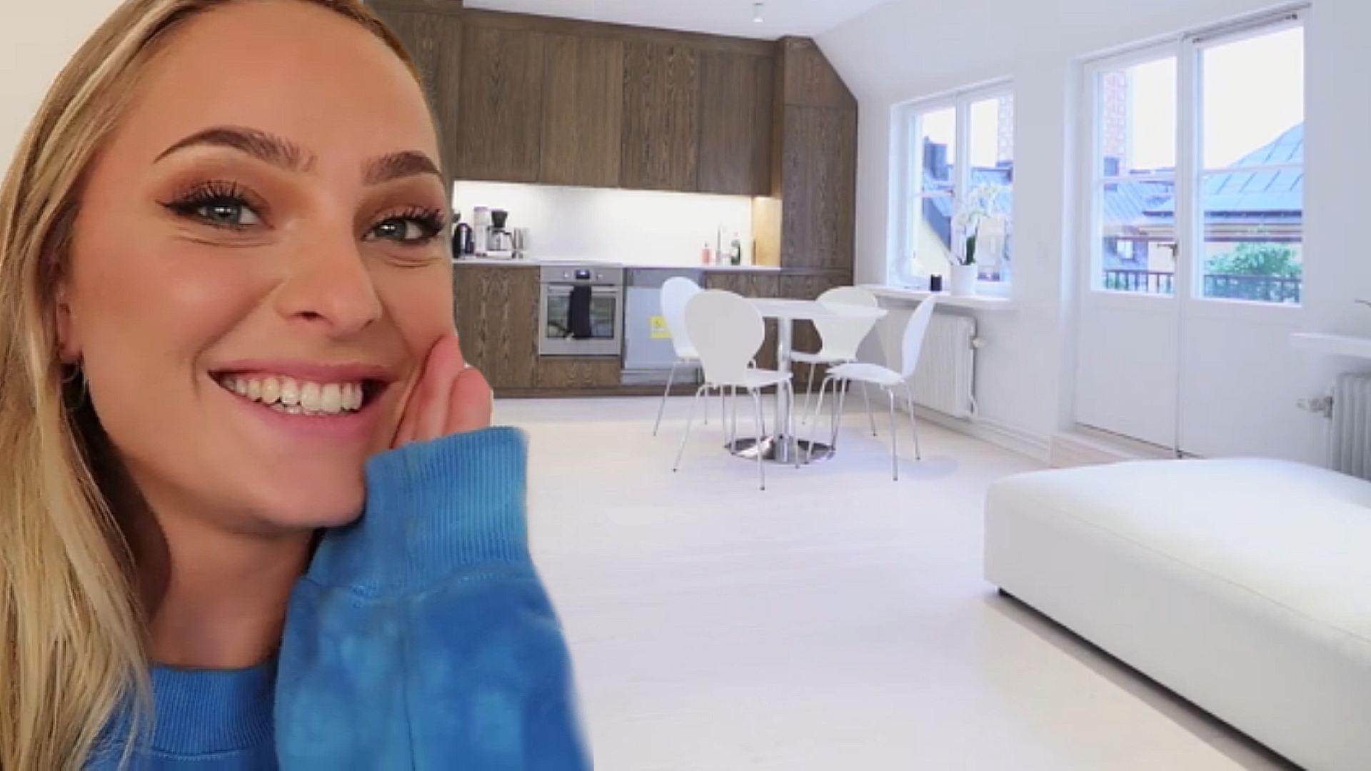 Rundtur i Alice Stenlöfs nästan klara lägenhet