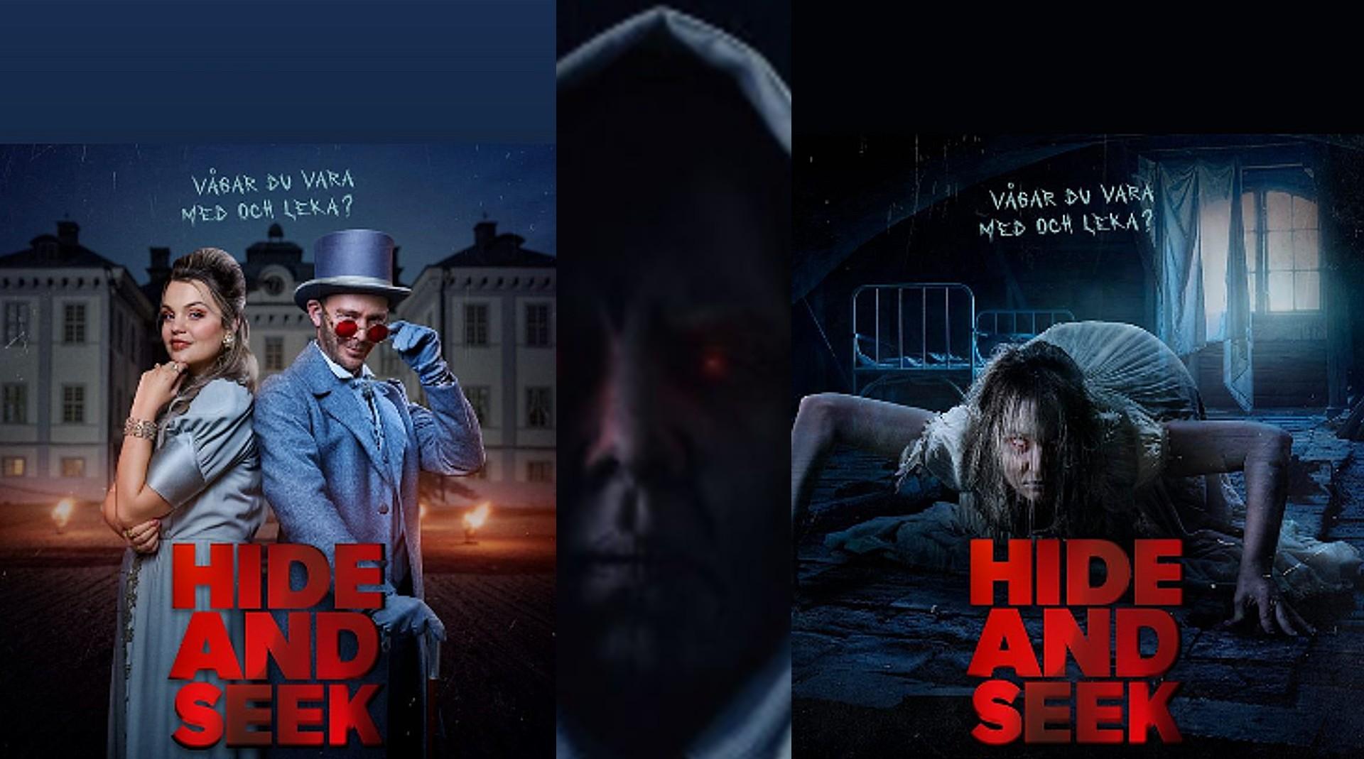 Joakim Lundells nya serie - Hide and Seek har premiär i december