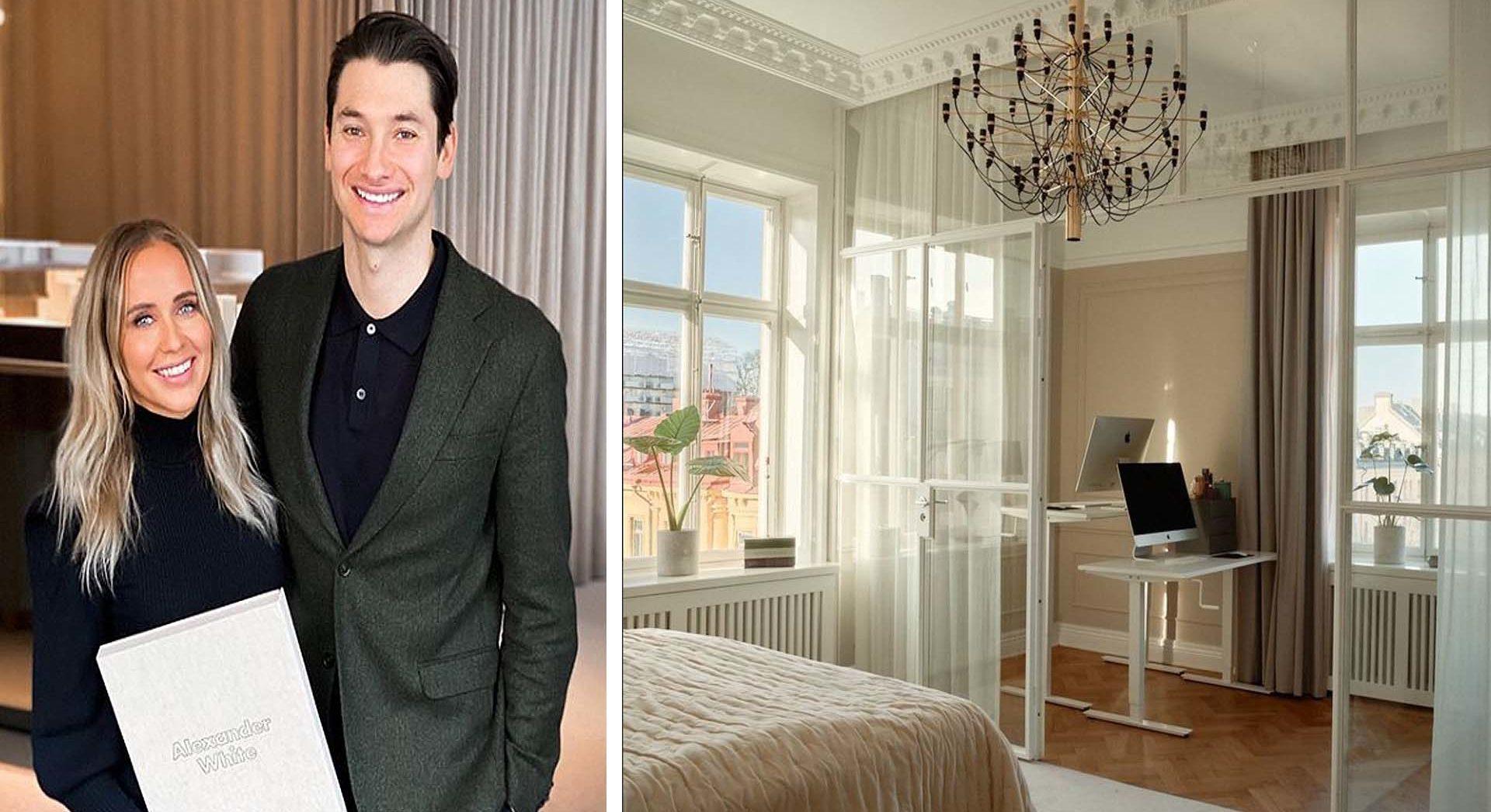 Ida Wargs och Alexanders lägenhet såld