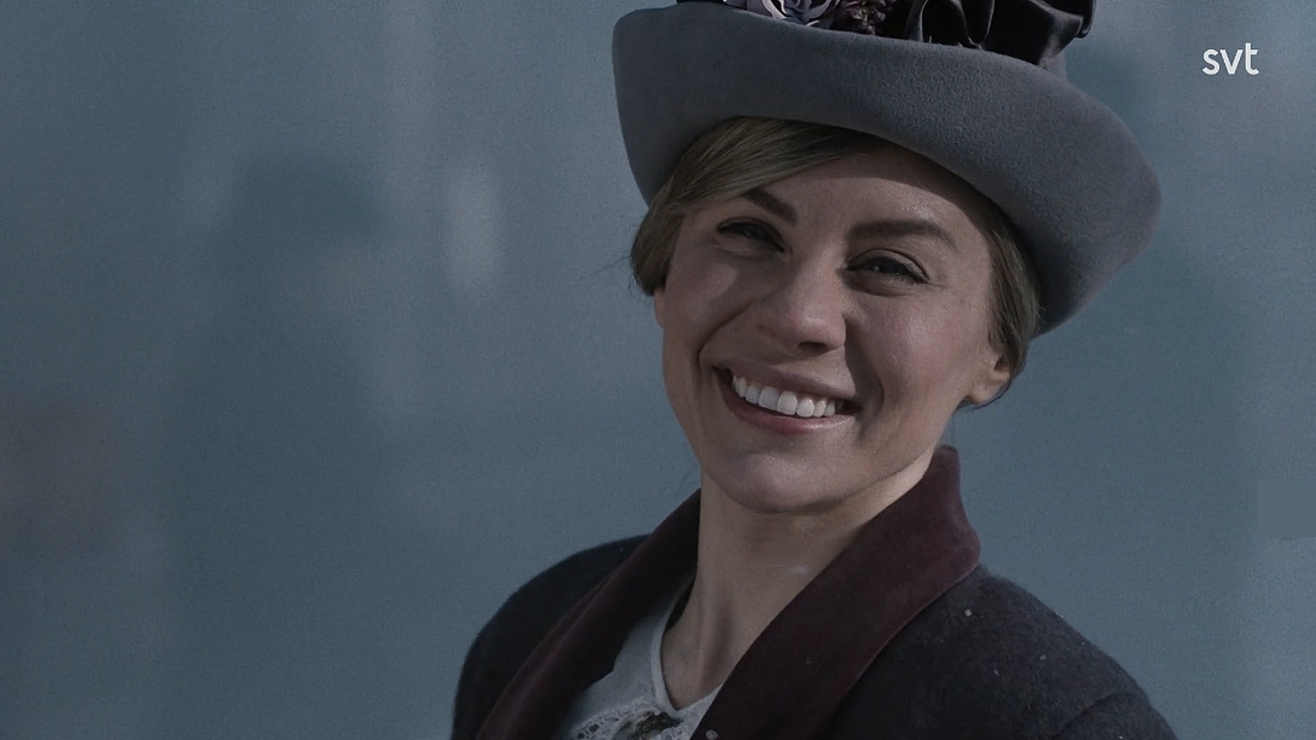 Therese Lindgrens rollfigur Greta träffar sin Ivar i Mirakel