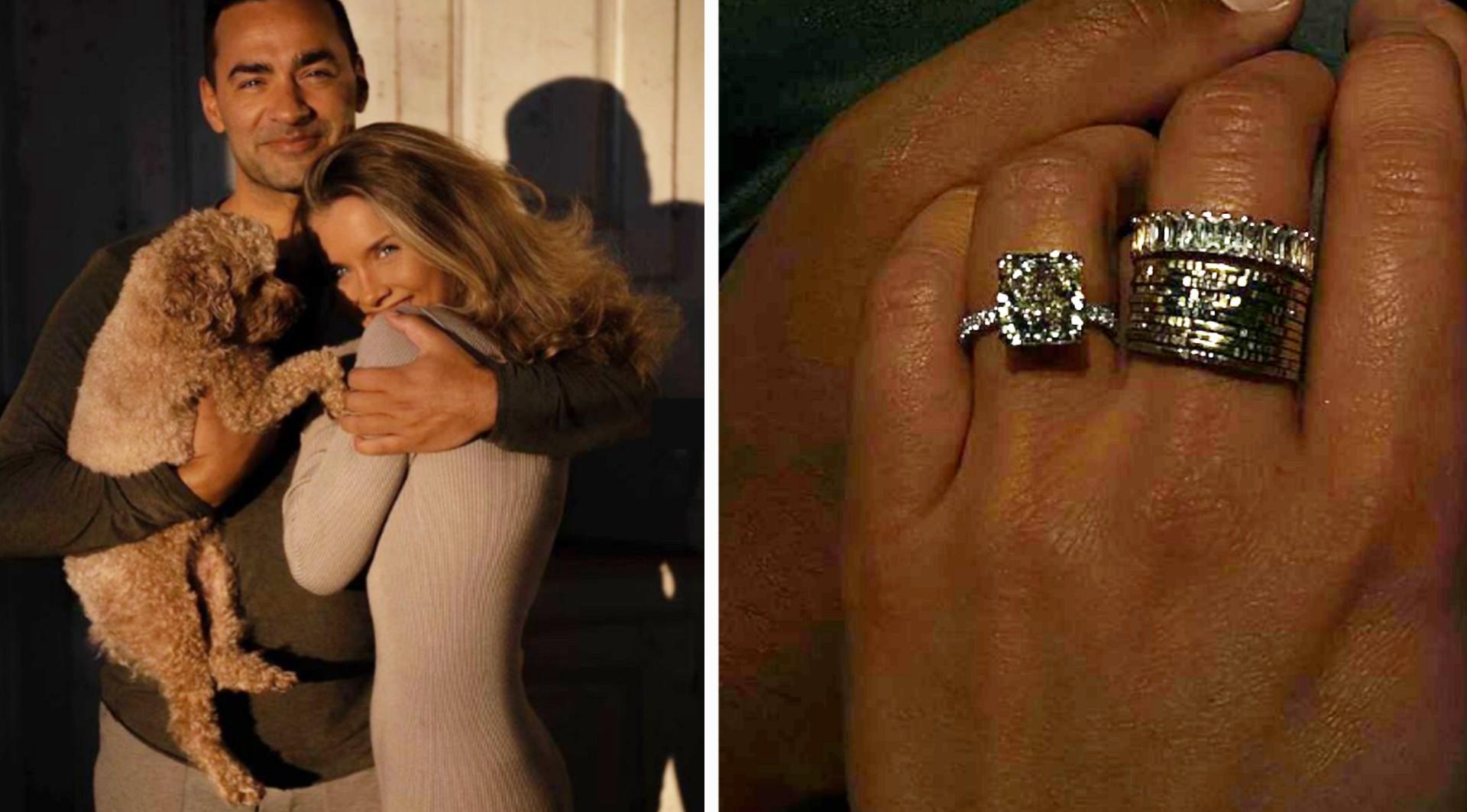 Molly Rustas har förlovat sig med Ross